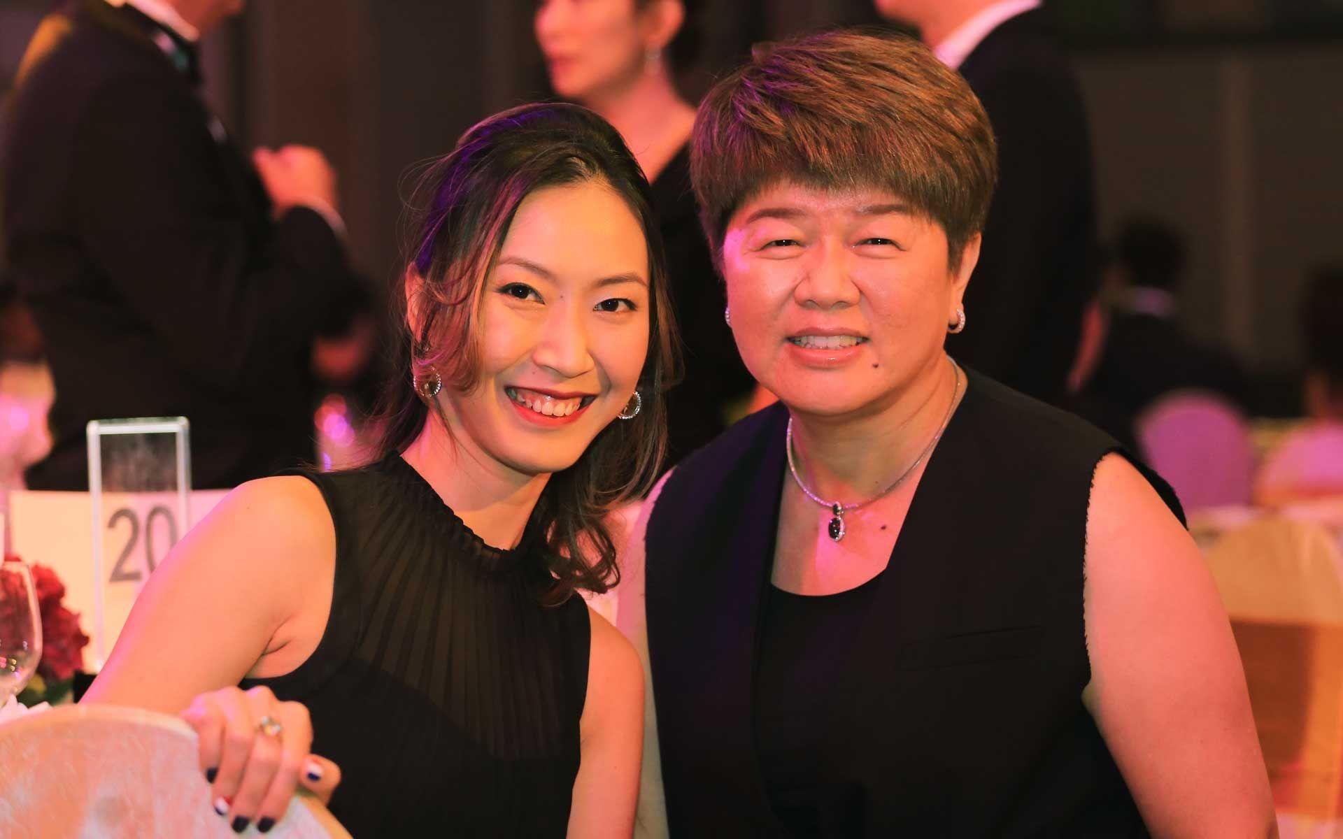 Lau Sook Ping and Rennie Lee