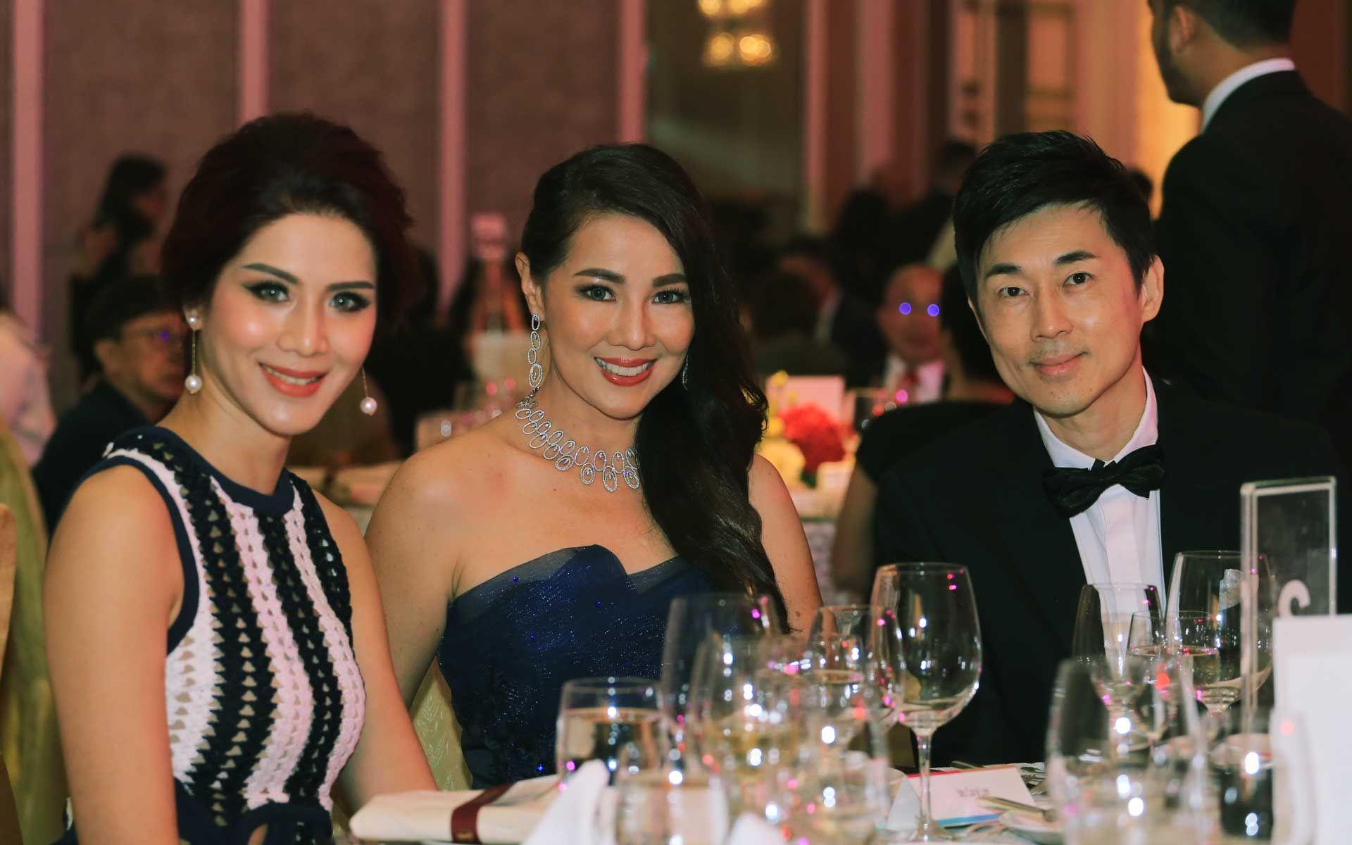 Karmen Khor, Carol Lee and Carven Ong