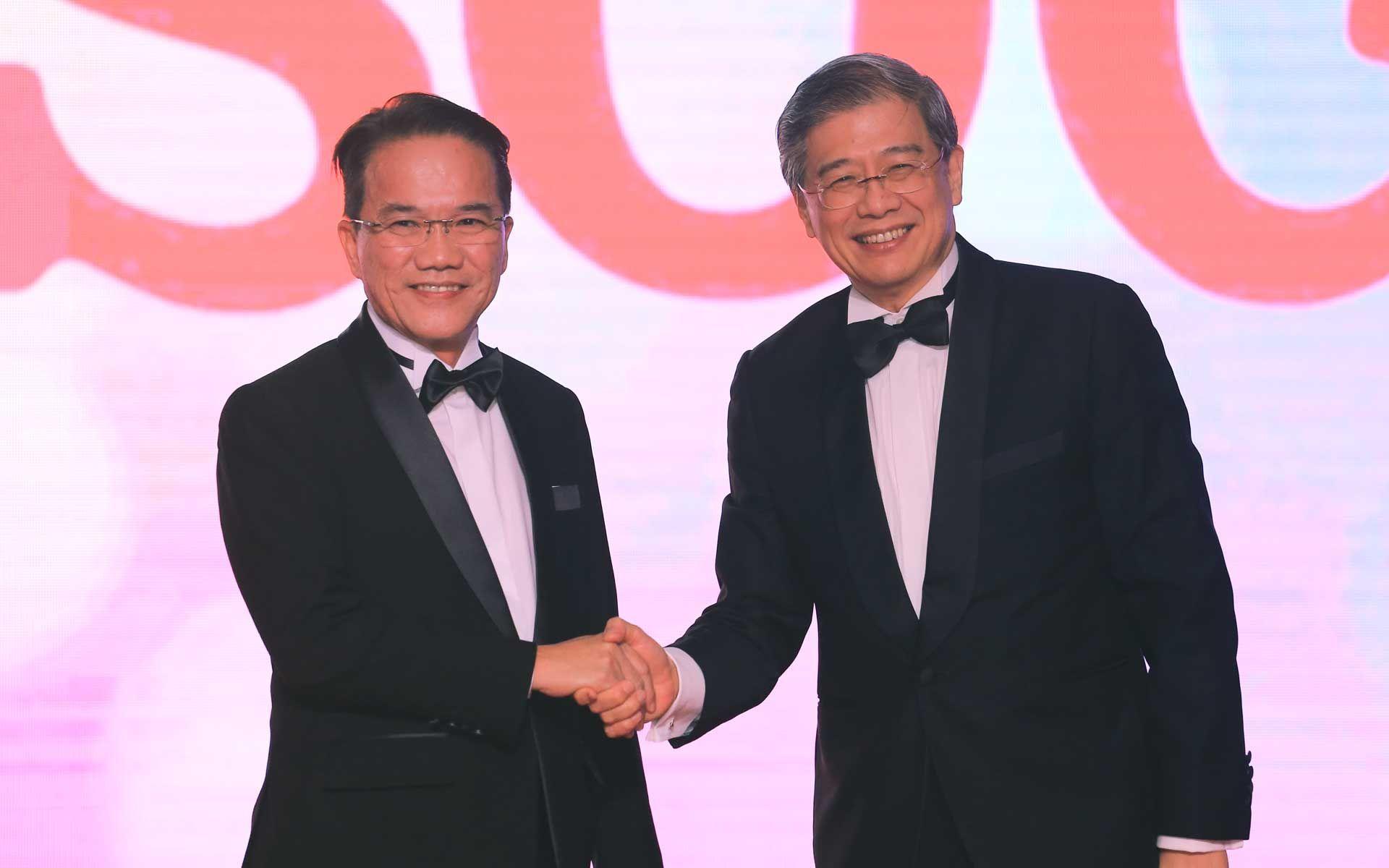 Datuk Liew Vui Keong and Datuk Andrew Lim