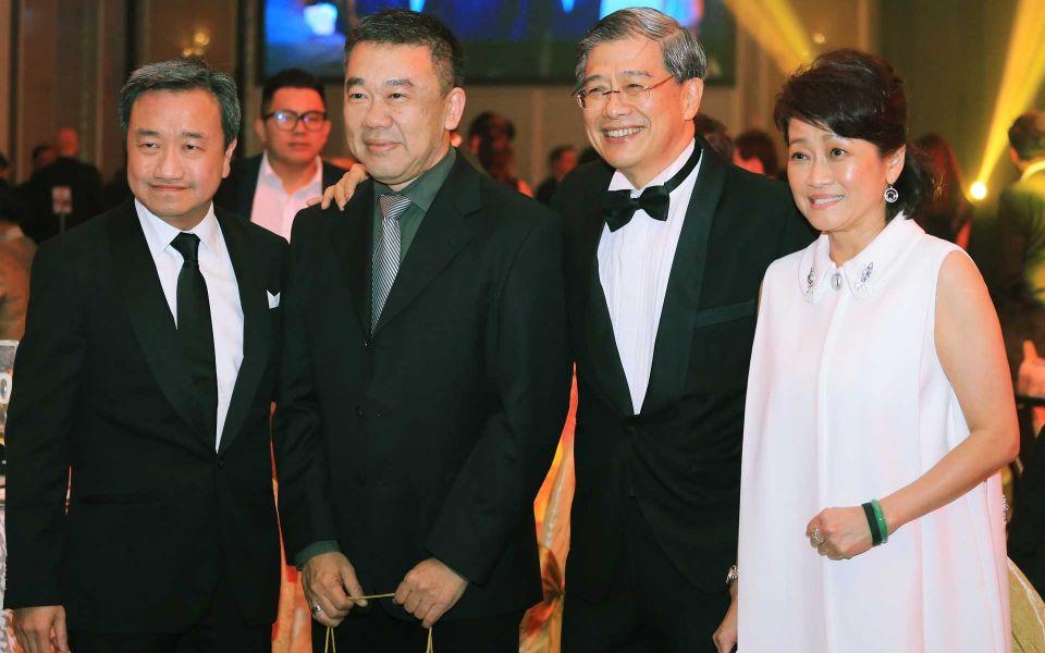 Datuk Alfred Cheng, Larry Heng, Datuk Andrew Lim and Lisa Yong