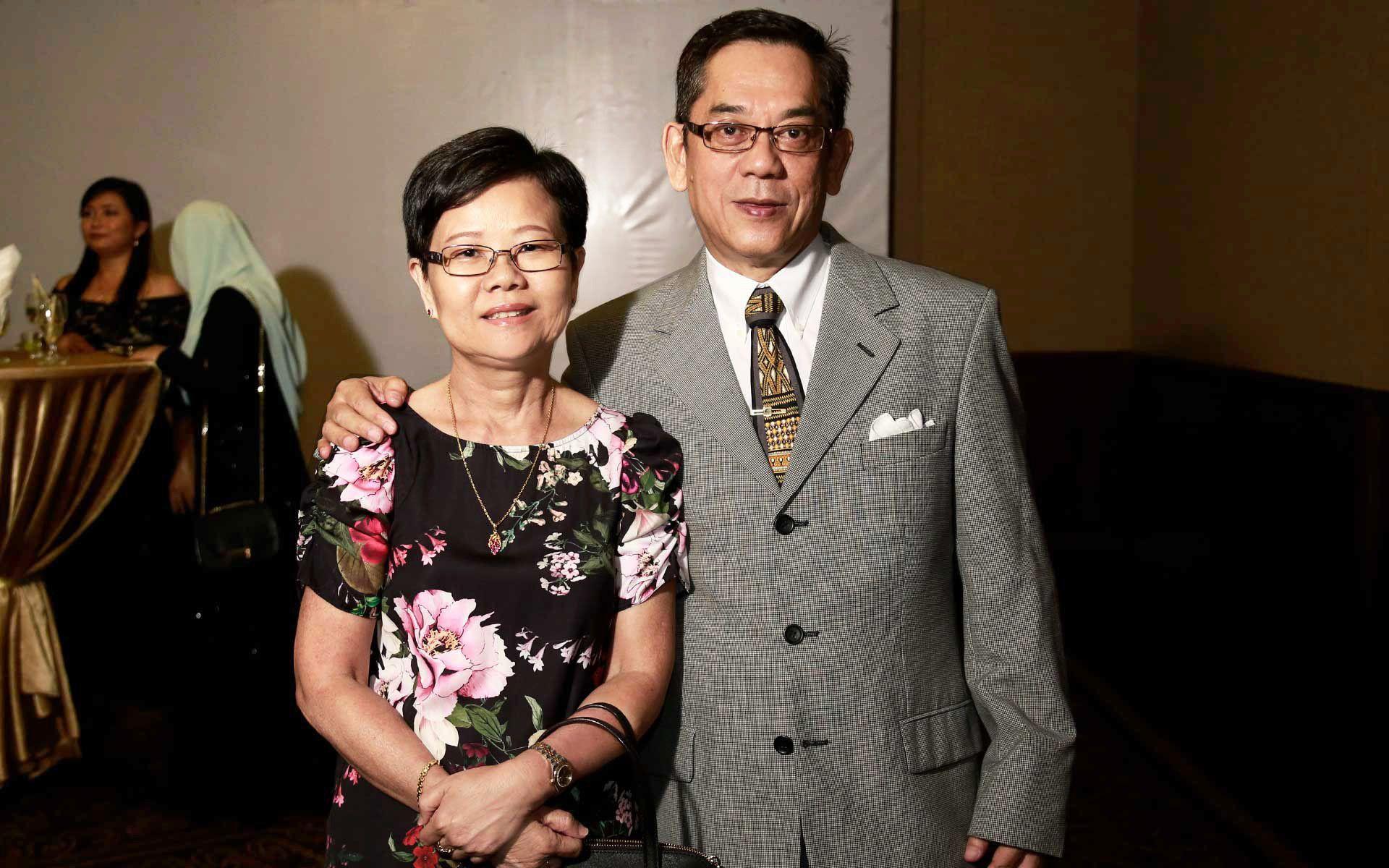 Tan Bee Leng and Jonathan Lim