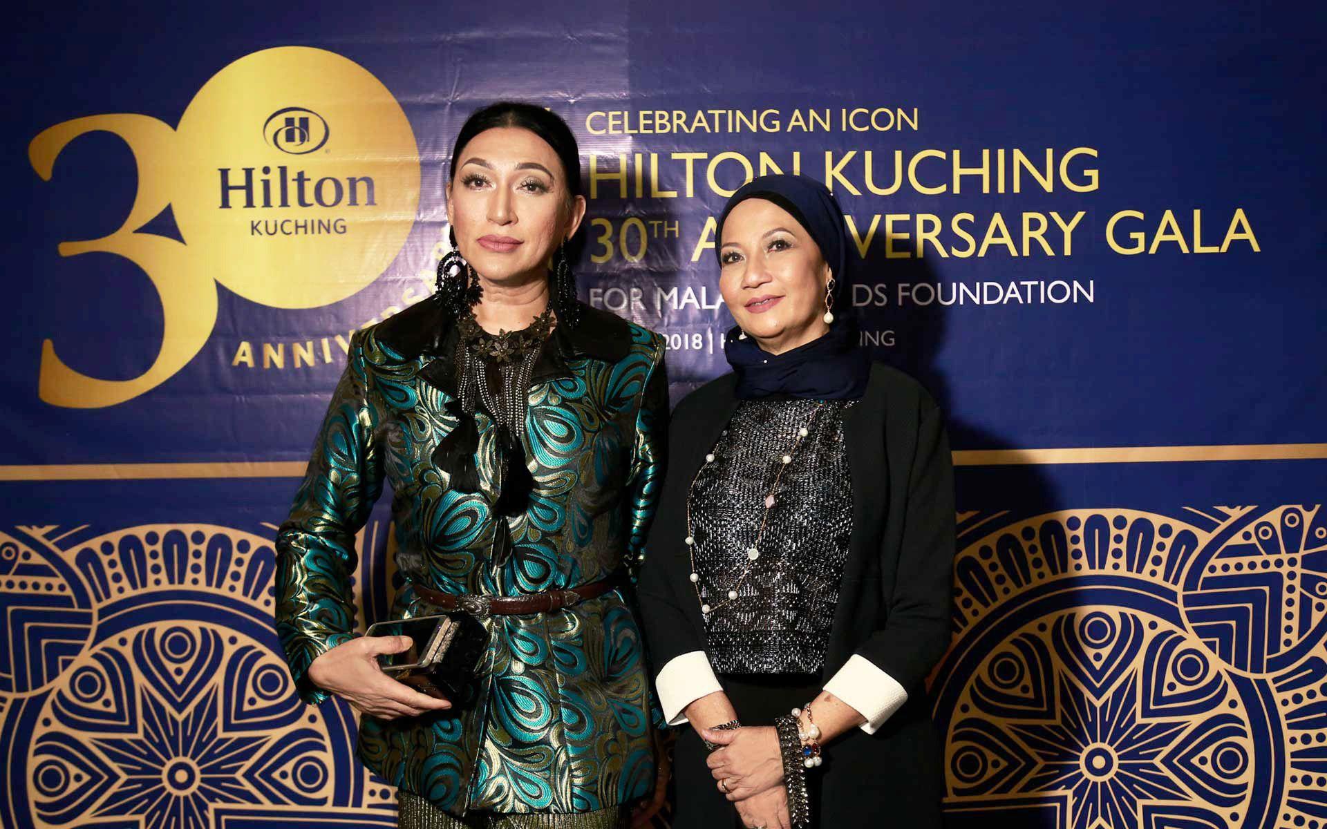 Marissa Ramsey and Datin Neolita Datuk Sri Haji Yusuf