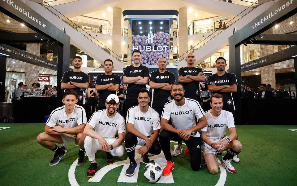 Hublot Loves Football teams
