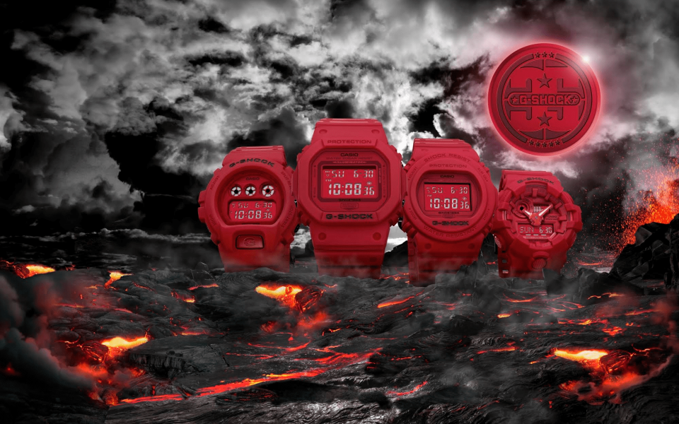 Red-Out collection (Photo: Casio)