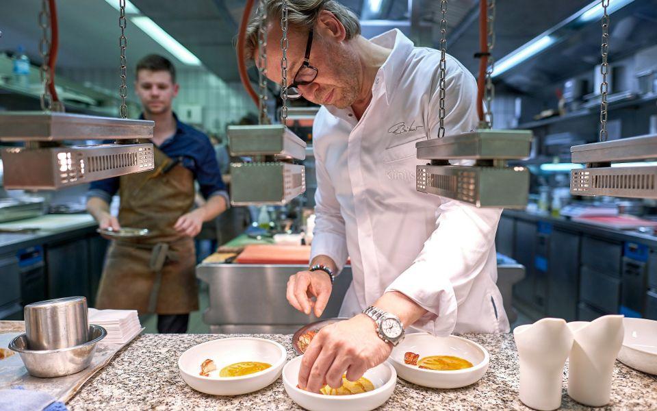 Three Michelin star chef Thomas Bühner