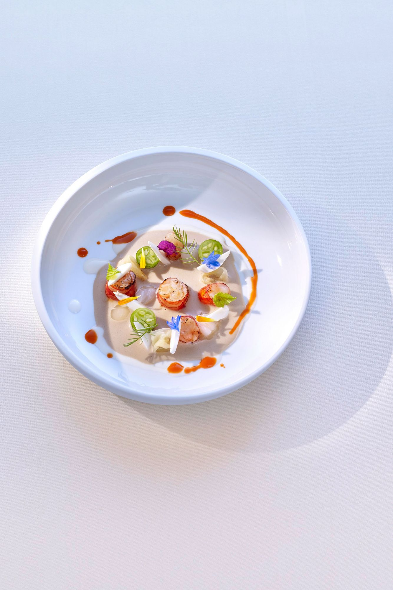 Thomas Bühner's Red Gamba Confit