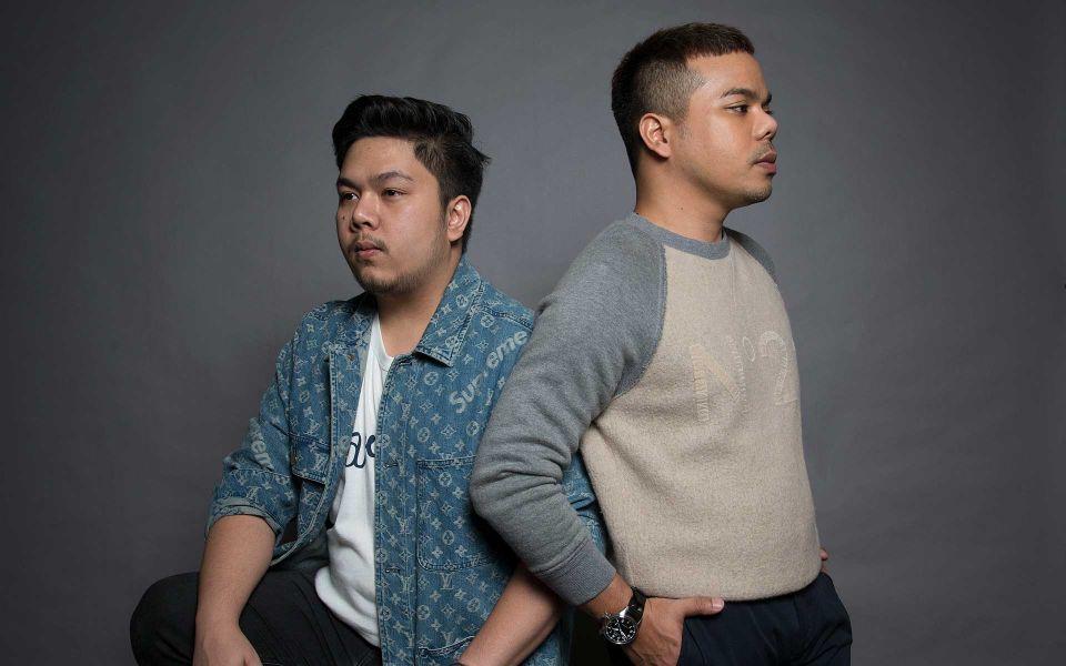 Izree Kai Haffiz and Mohd Hafizi Radzi Woo.  Photo: Shaffiq Farhan/Malaysia Tatler