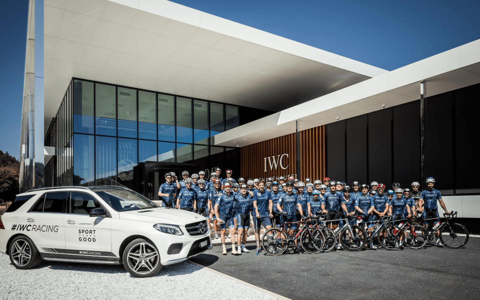 Teams from IWC and Laureus assembled at the IWC headquarters in Schaffhausen