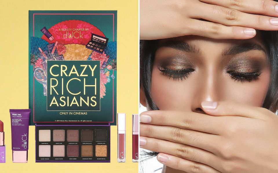 Crazy Rich Asians x dUCk Cosmetics