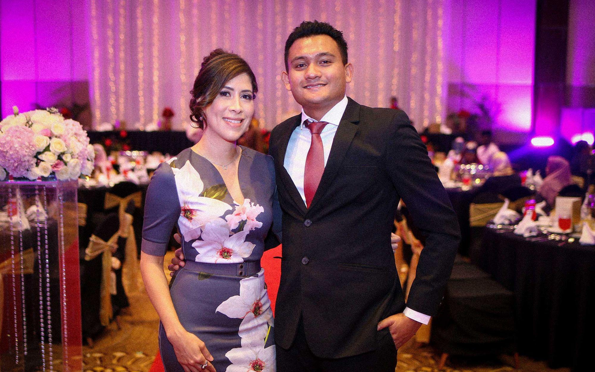 Laura Sanchez and Akasha Md Noor