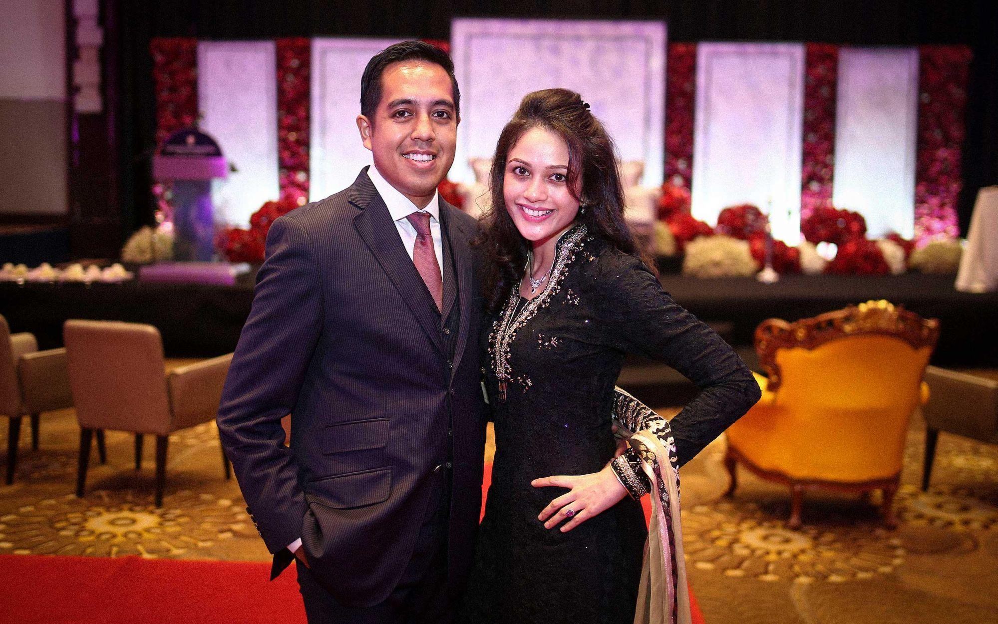 Nik Harris and Nataliah Md Noor