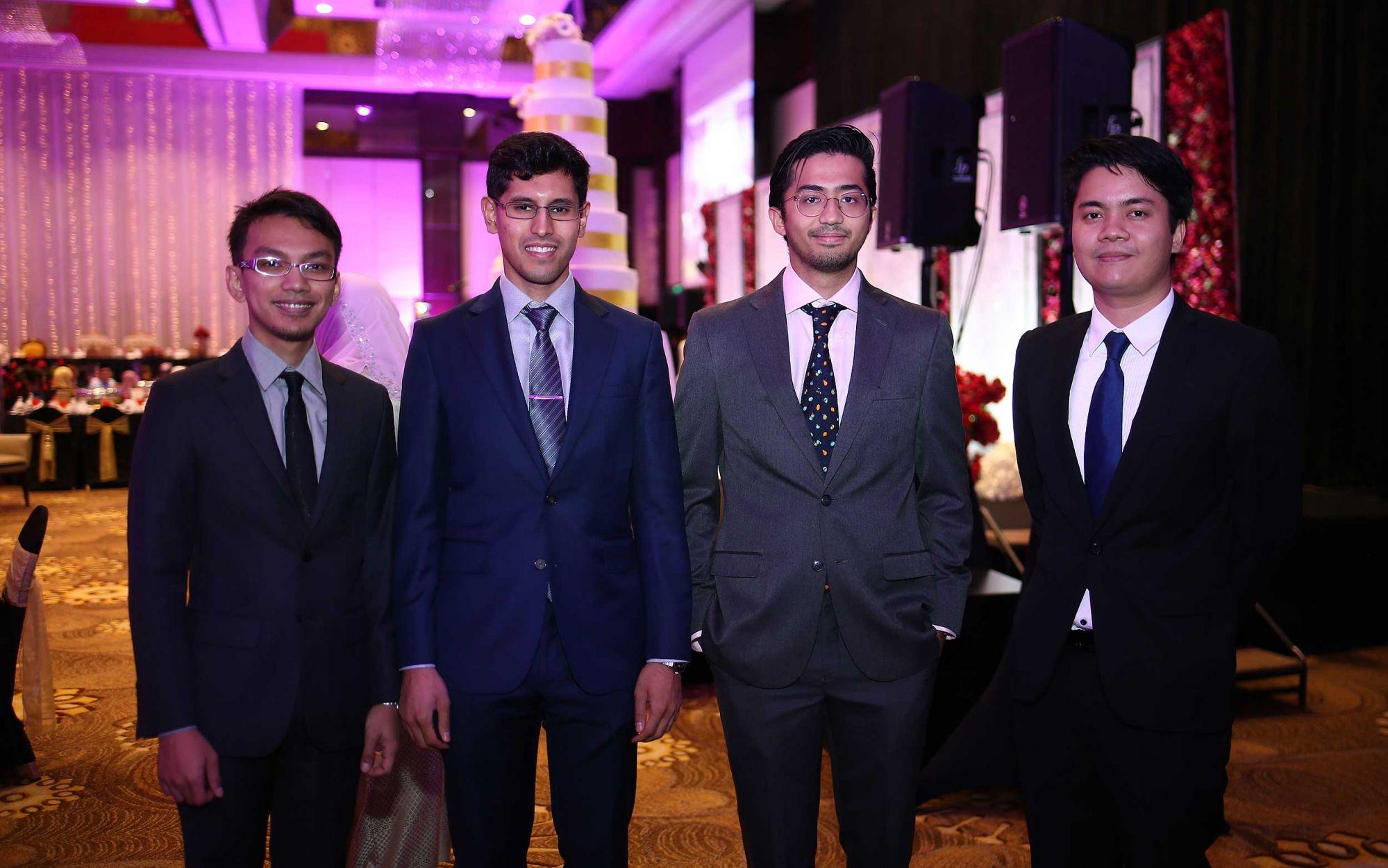 Tengku Mutalib, Syed Emir Irfan Wafa, Ahmad Shalique Ahmad Kamal and Ahmad Bashar