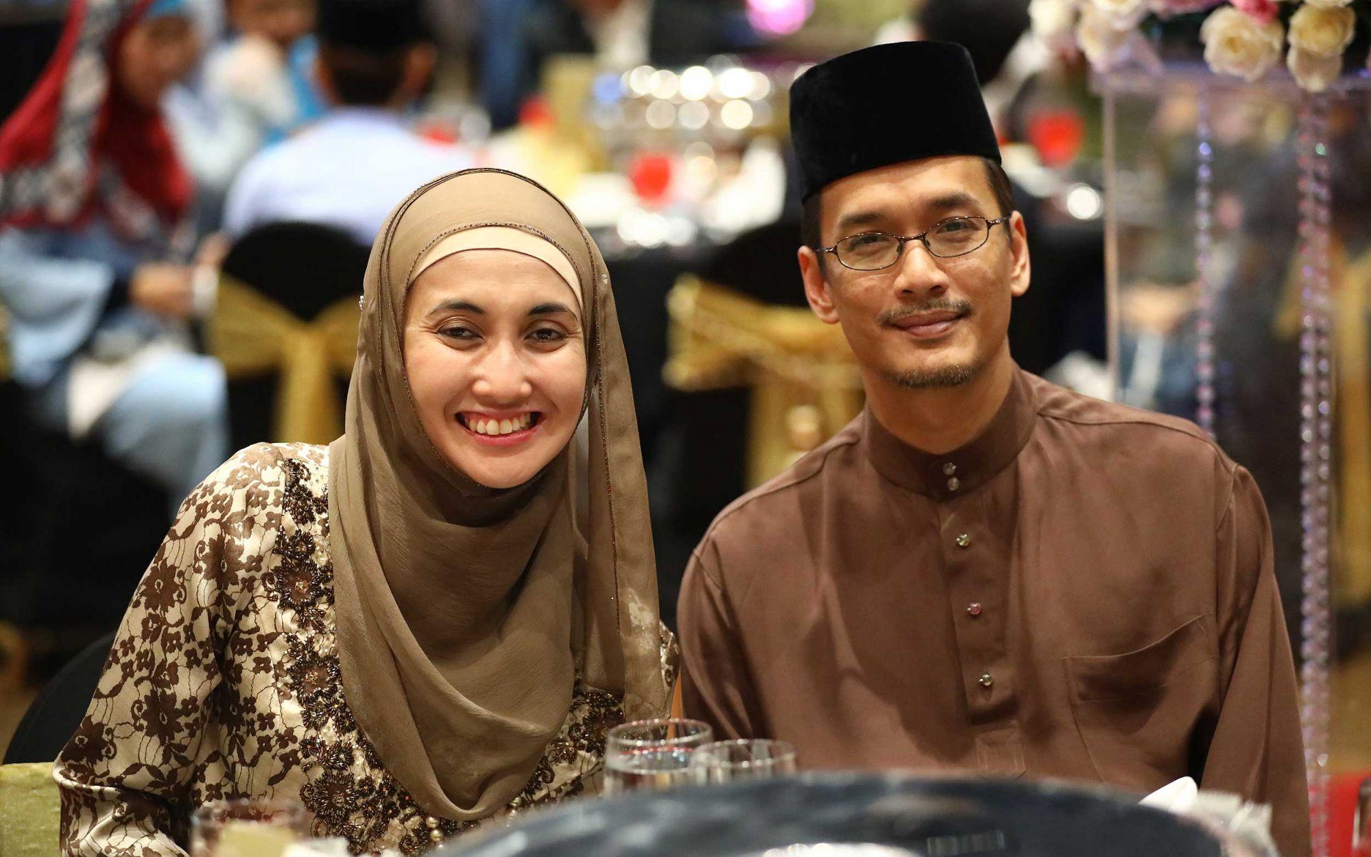 Dr Sharifah Eliza Cornelia Jamalullail and Dr Tunku Muzafar Shah Tunku Jaa'far Laksamana