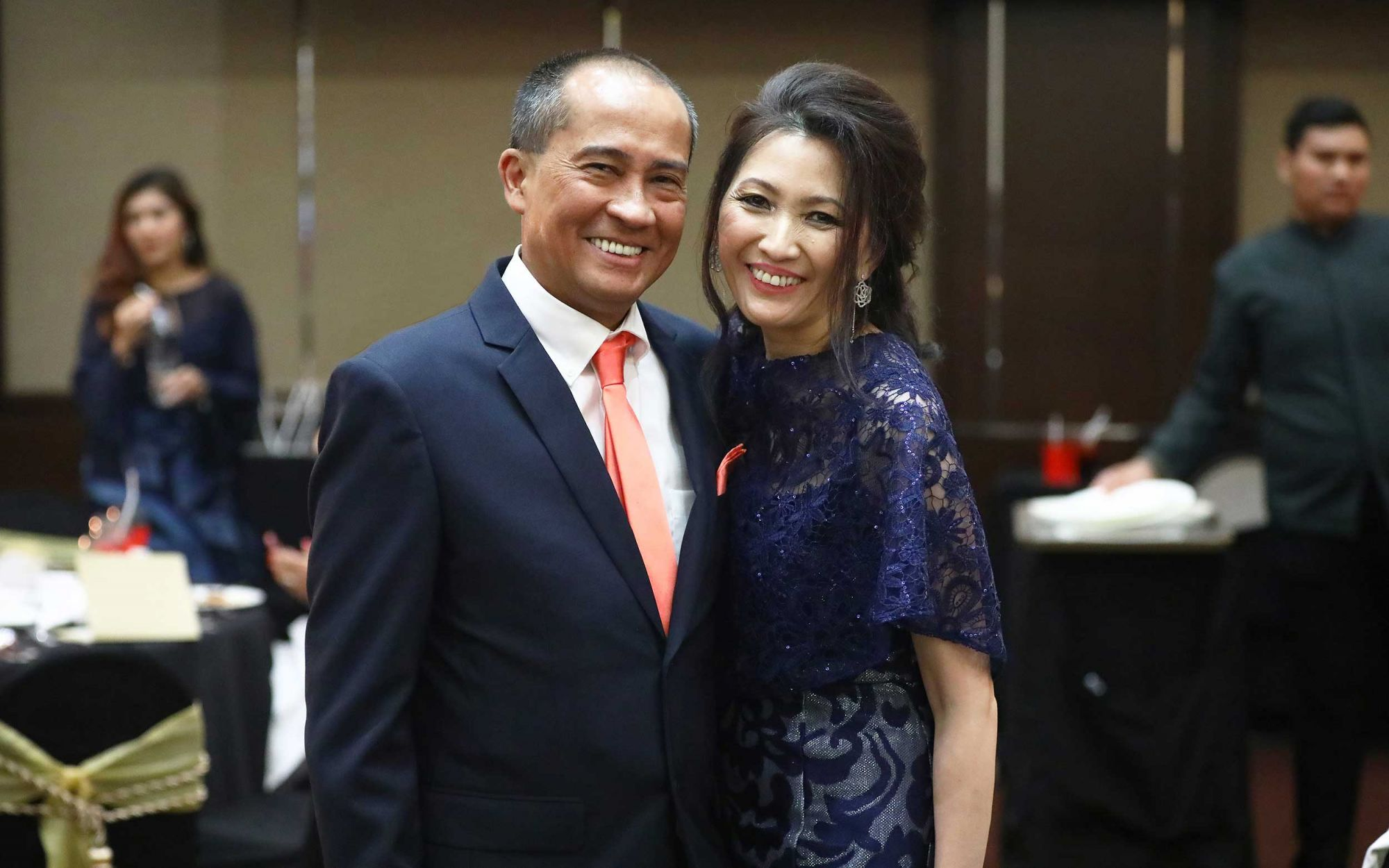 Dato' Dr Anuar Onah and Datin Dr Norazlin Mokhtar