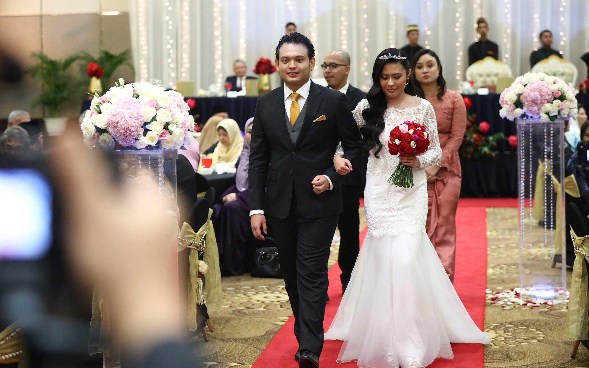 Sharizuan Md Noor and Iman Alia Anuar
