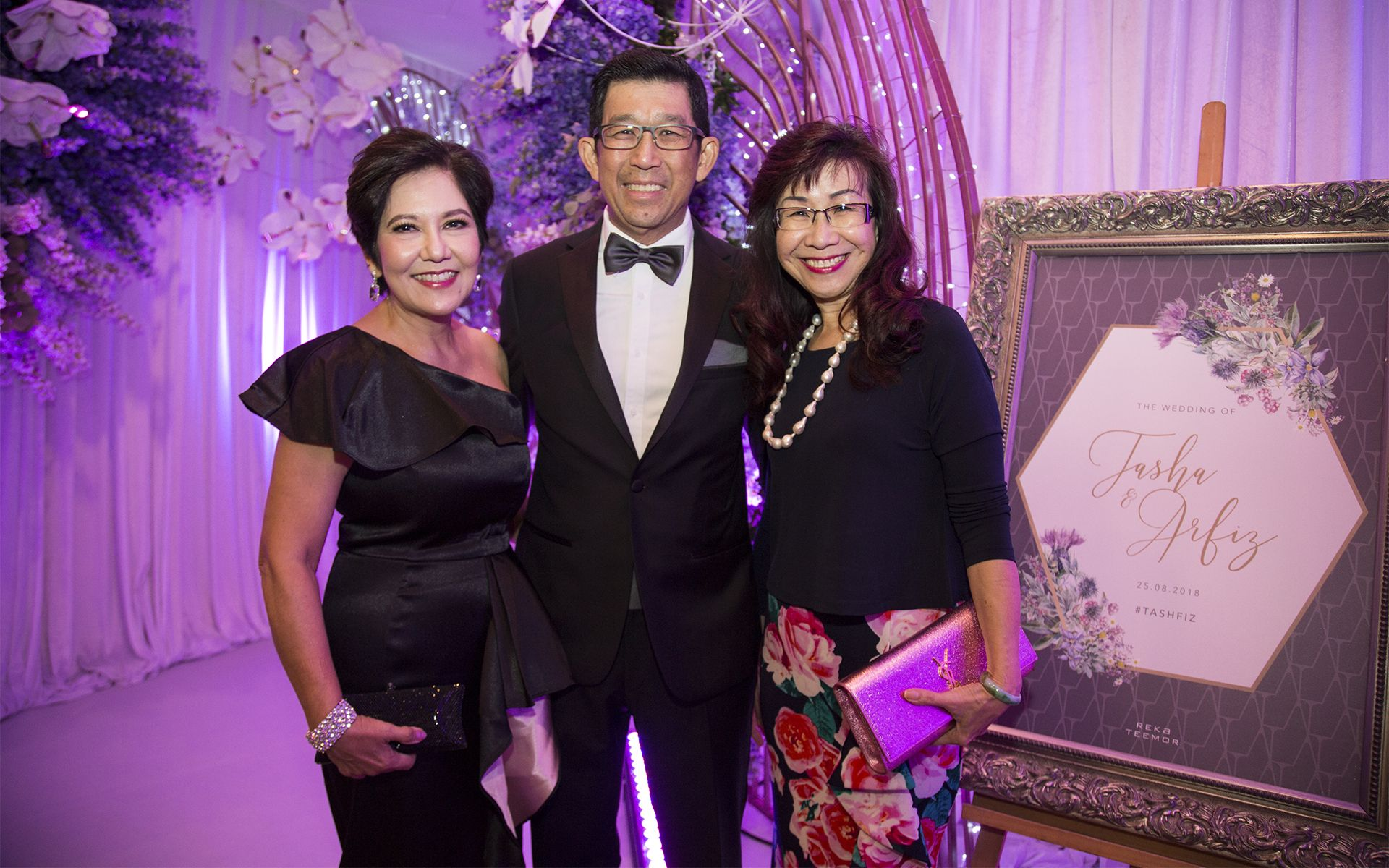 Alice Yong, Adrian Yong and Florence Fang