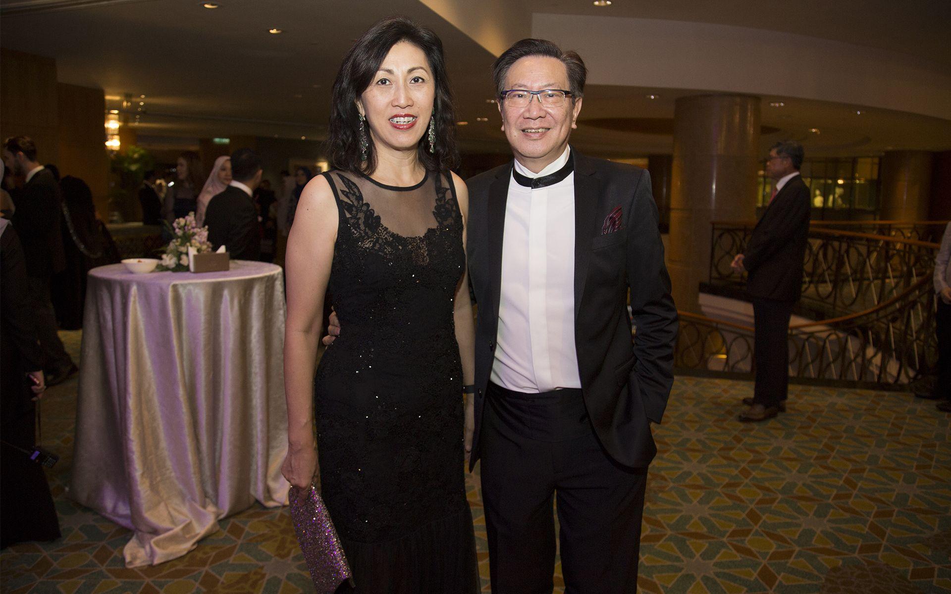 Datin Mina Cheah and Dato' Simon Foong