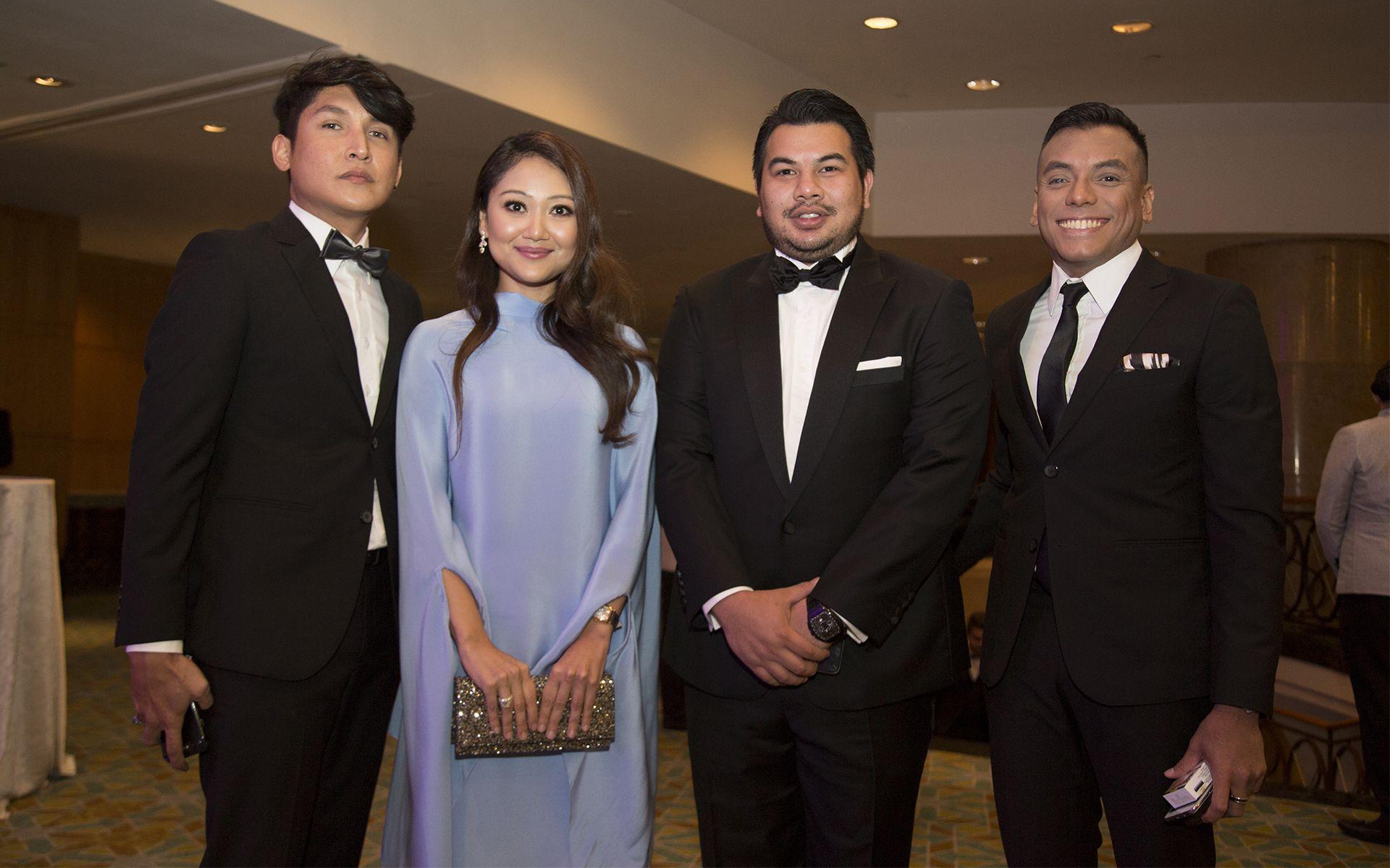 Jimmy Najeem, Shareen Sophiah, Hariz Nadzmi and Shahrezzan Ezani