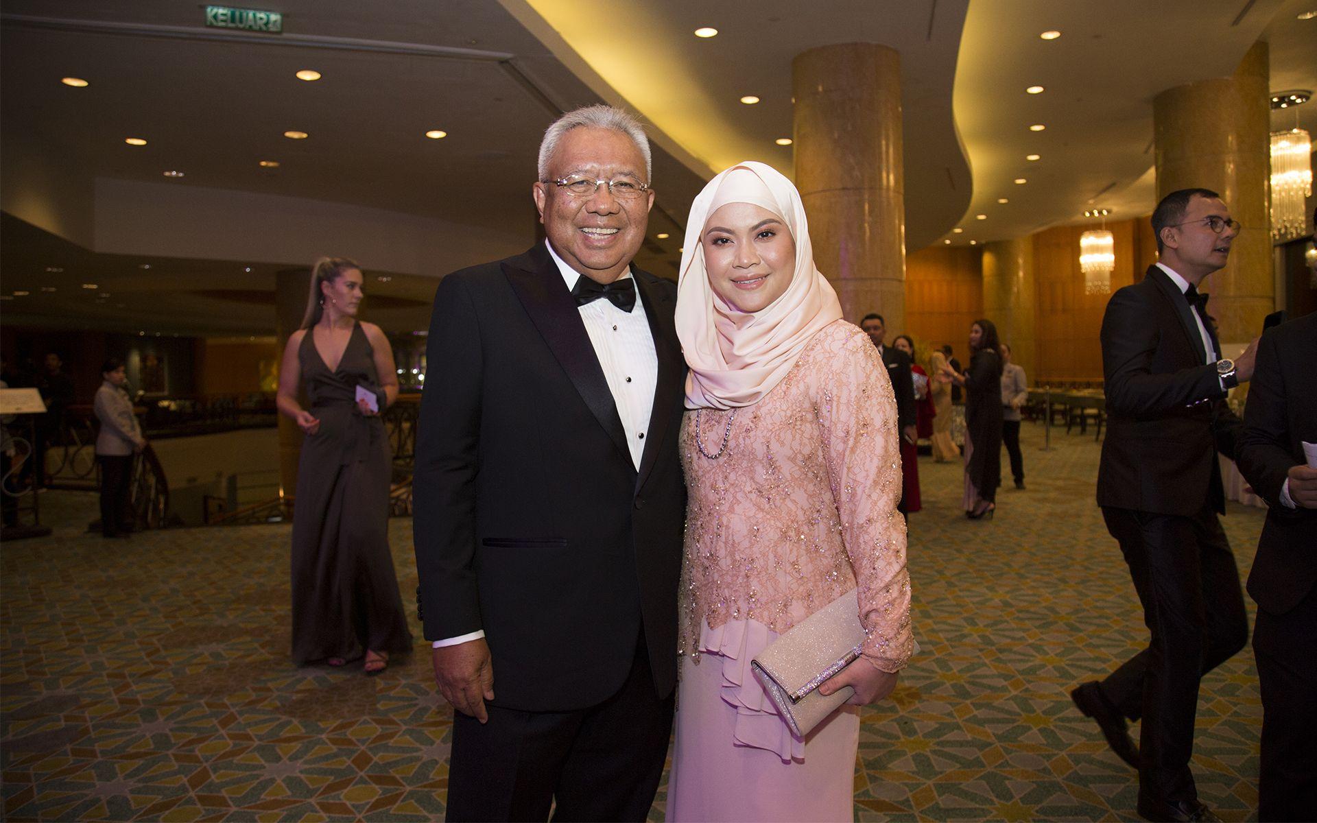Ghaus Ismail and Liyana Ghaus