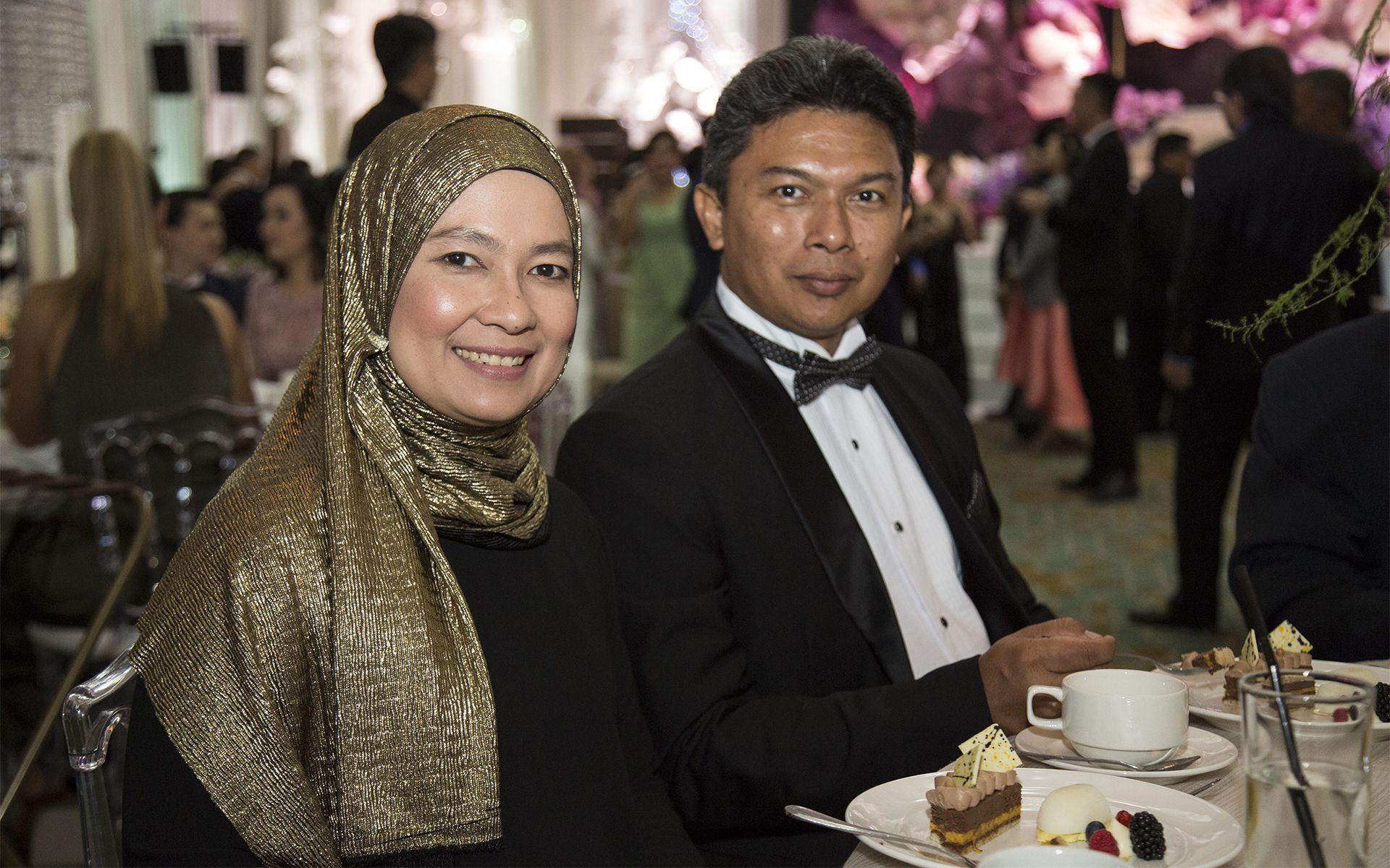 Noraihan Abdul Rahman and Tunku Faidzal Hanizar