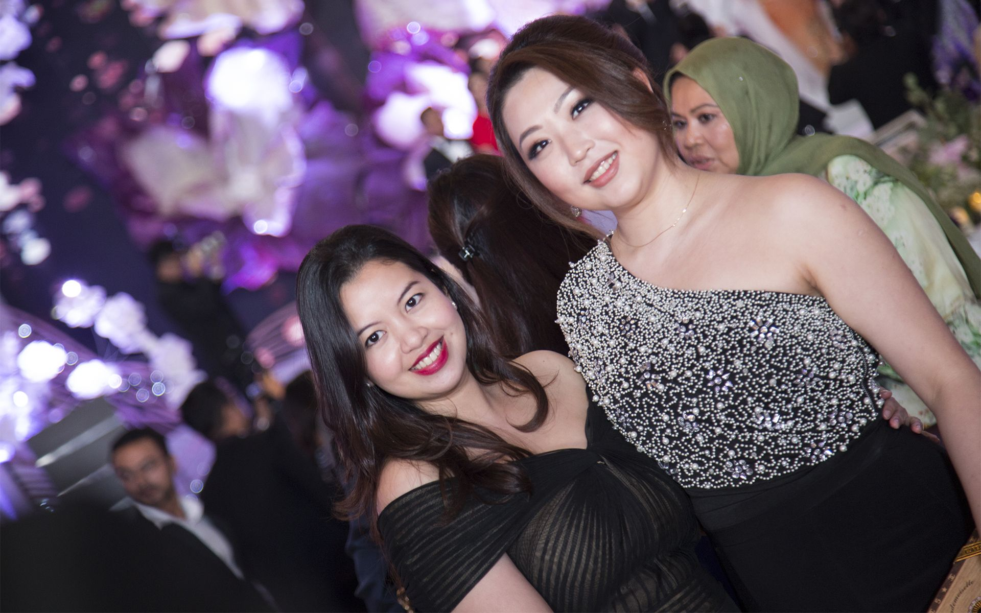 Alia Azlam and Ashley Ho