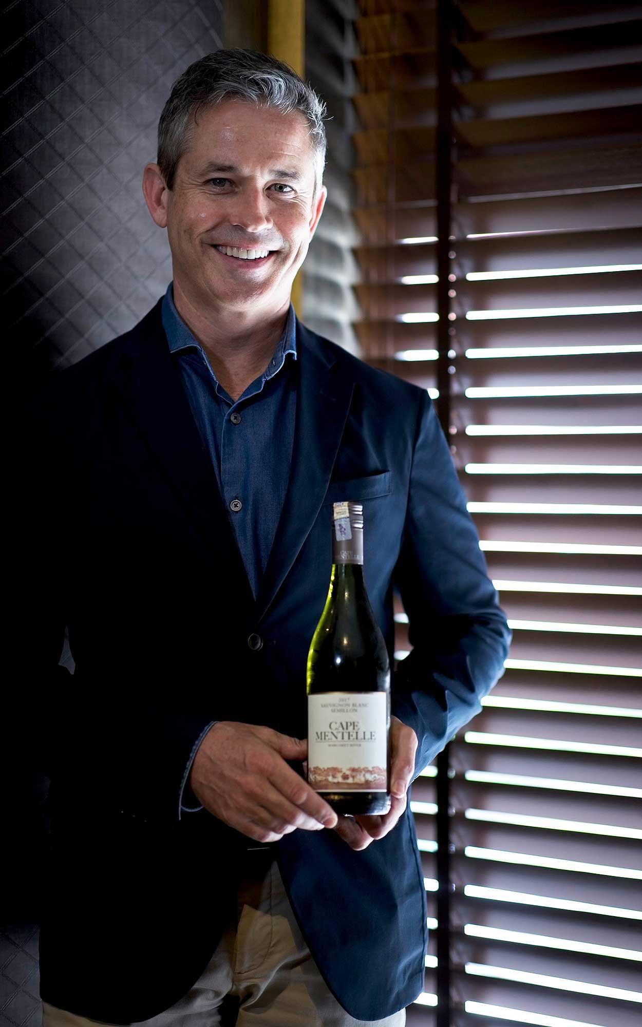 Cameron Murphy, estate director of Cape Mentelle. Photo: Credit Bonnie Yap