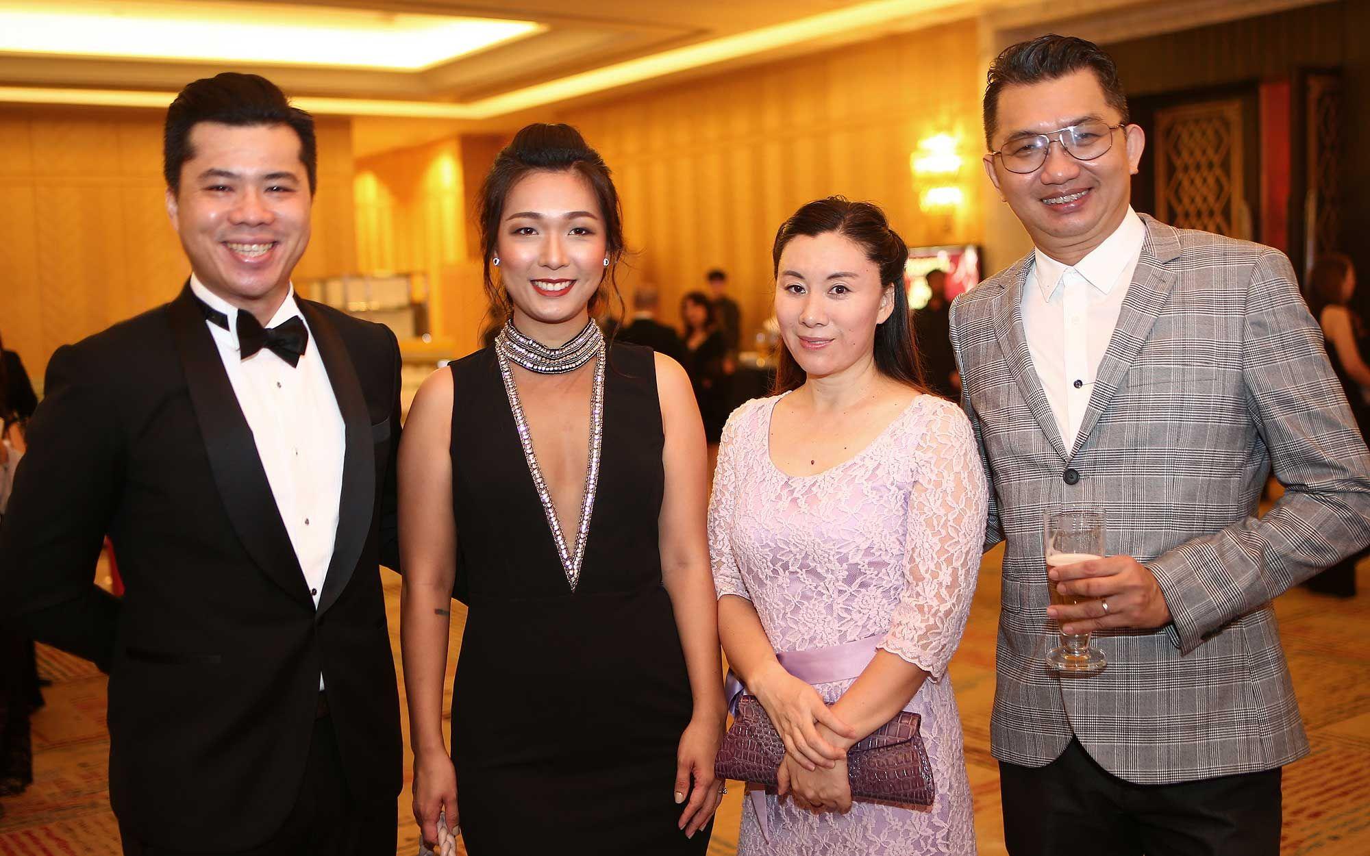 John Chai, Lee Cindy, Dong Mei and Kio Fook Khan