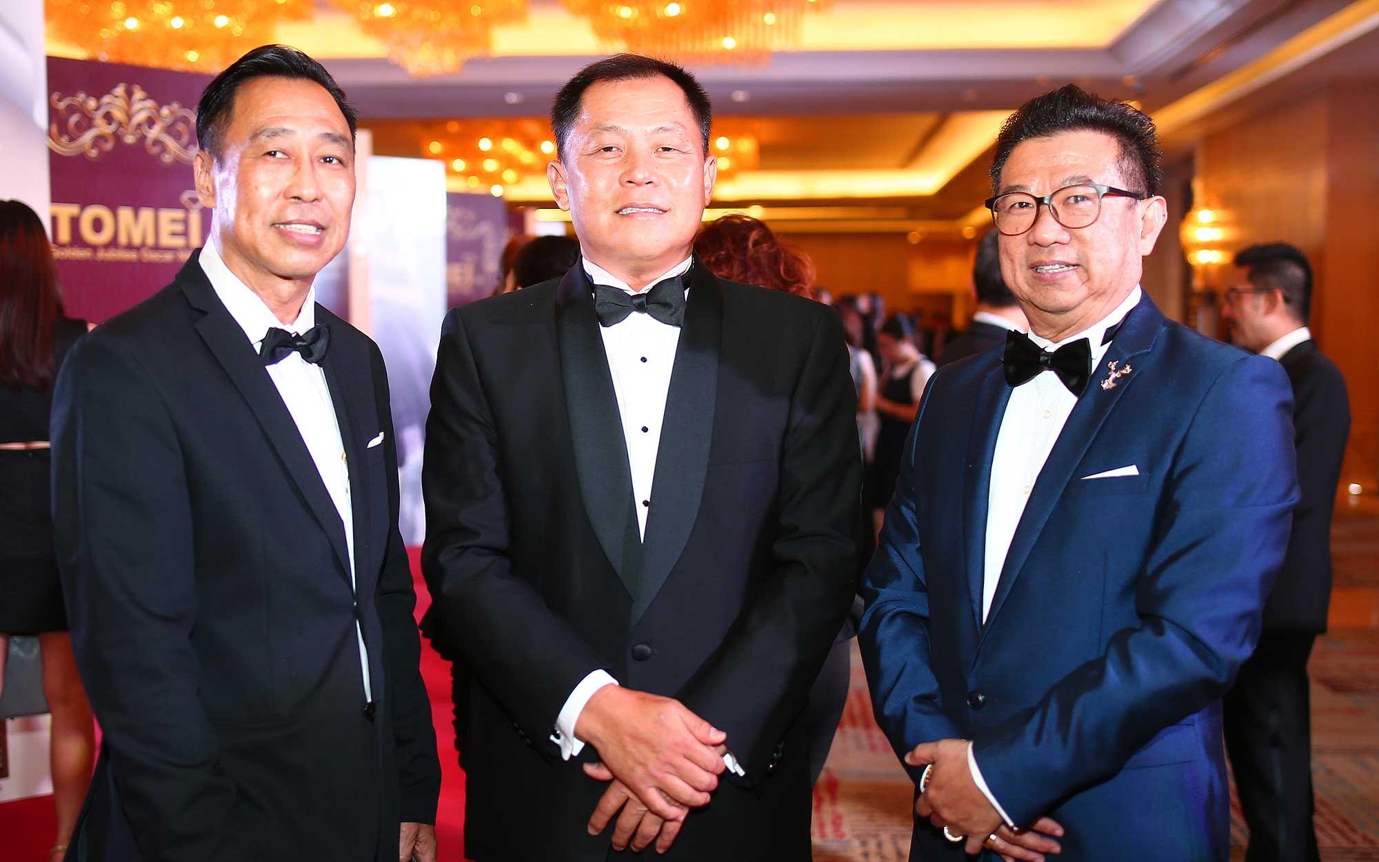 Timmy Au, Datuk Wira Richard Lau and Dato' Dr. Ir. Andy Seo Kian Haw