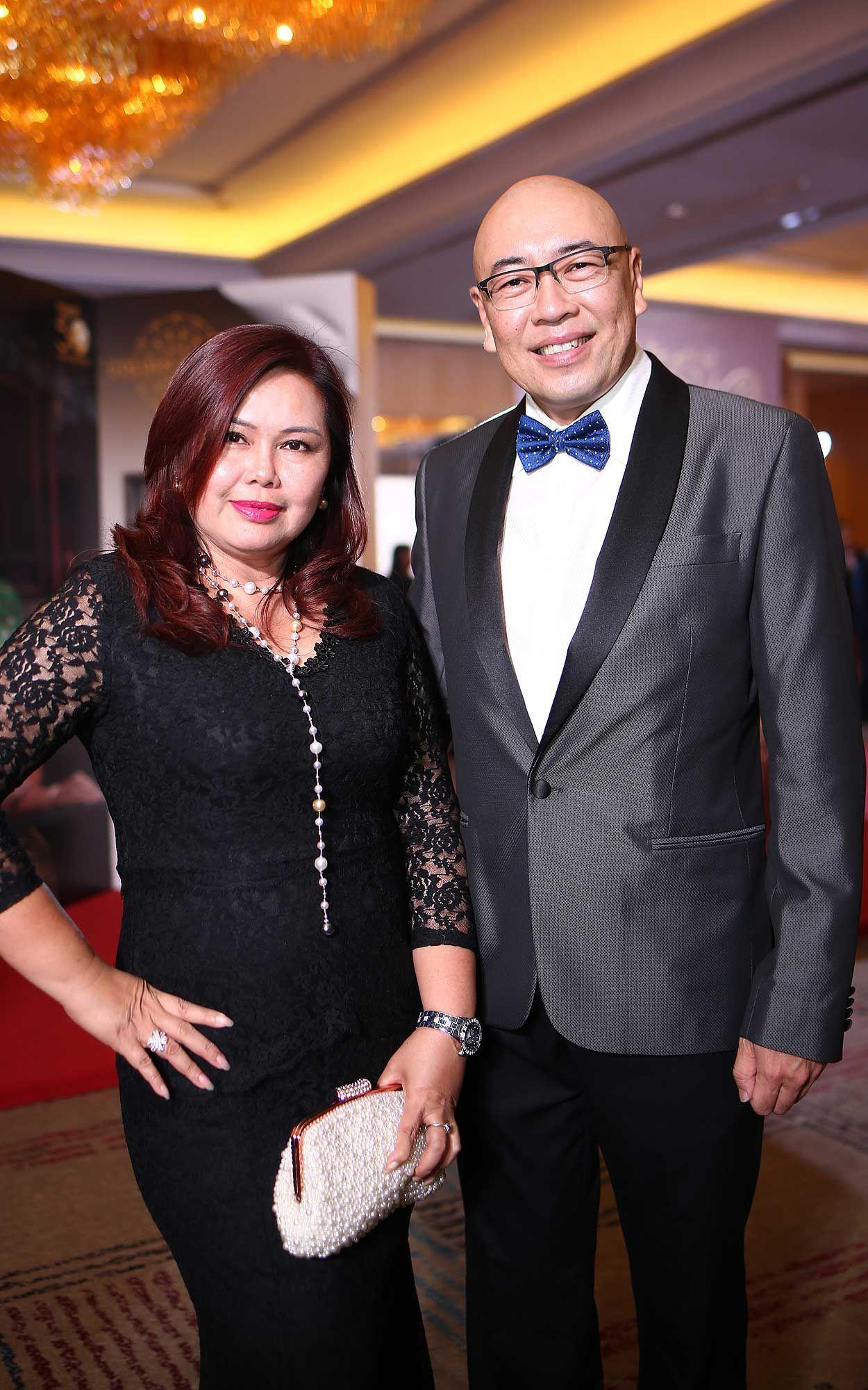 Datin Cynthia Cheong and Dato' Vincent Choo