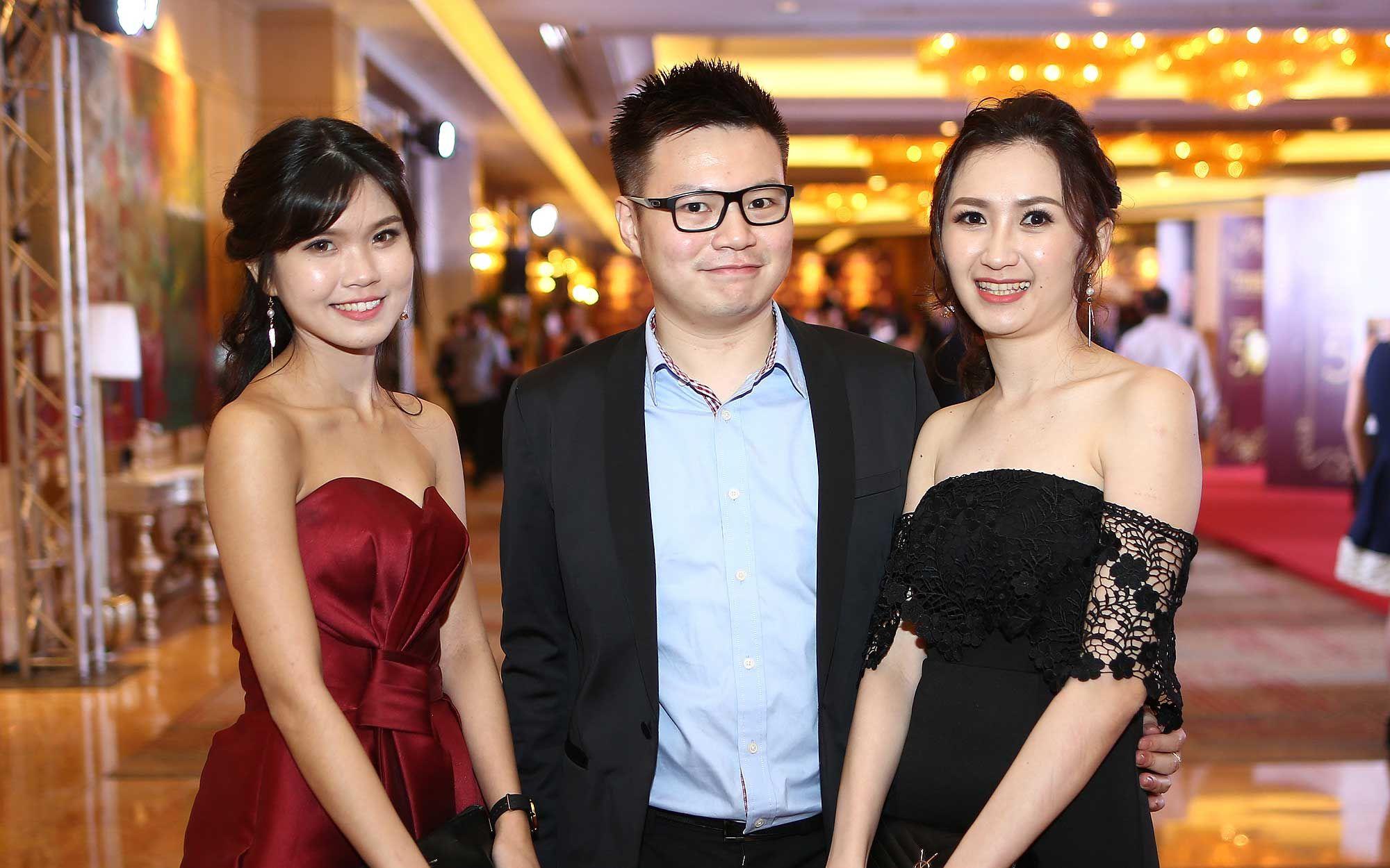 Kommy Tai, Oscar Chong and Yuki Teh