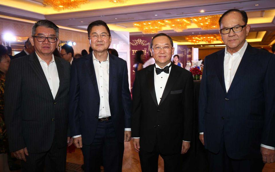 Datuk Albert Chiang Heng Kieng, Tan Sri David Kong, Tan Sri Dato' Sri Leong Hoy Kum, Dato' Ng Bee Chai