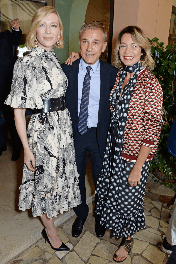 Cate Blanchett, Christoph Waltz and Stefania Rocca