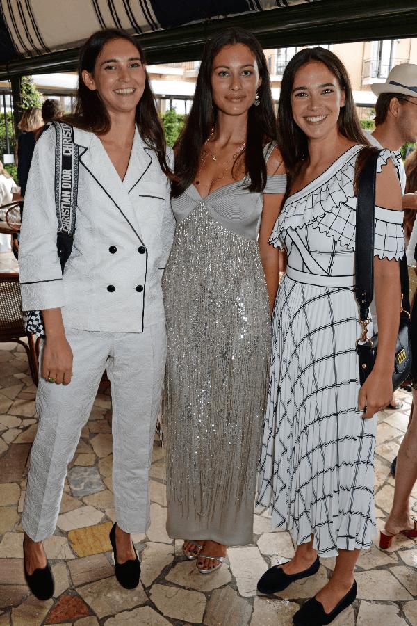 Viola Arrivabene, Micaela Ramazotti and Vera Arrivabene