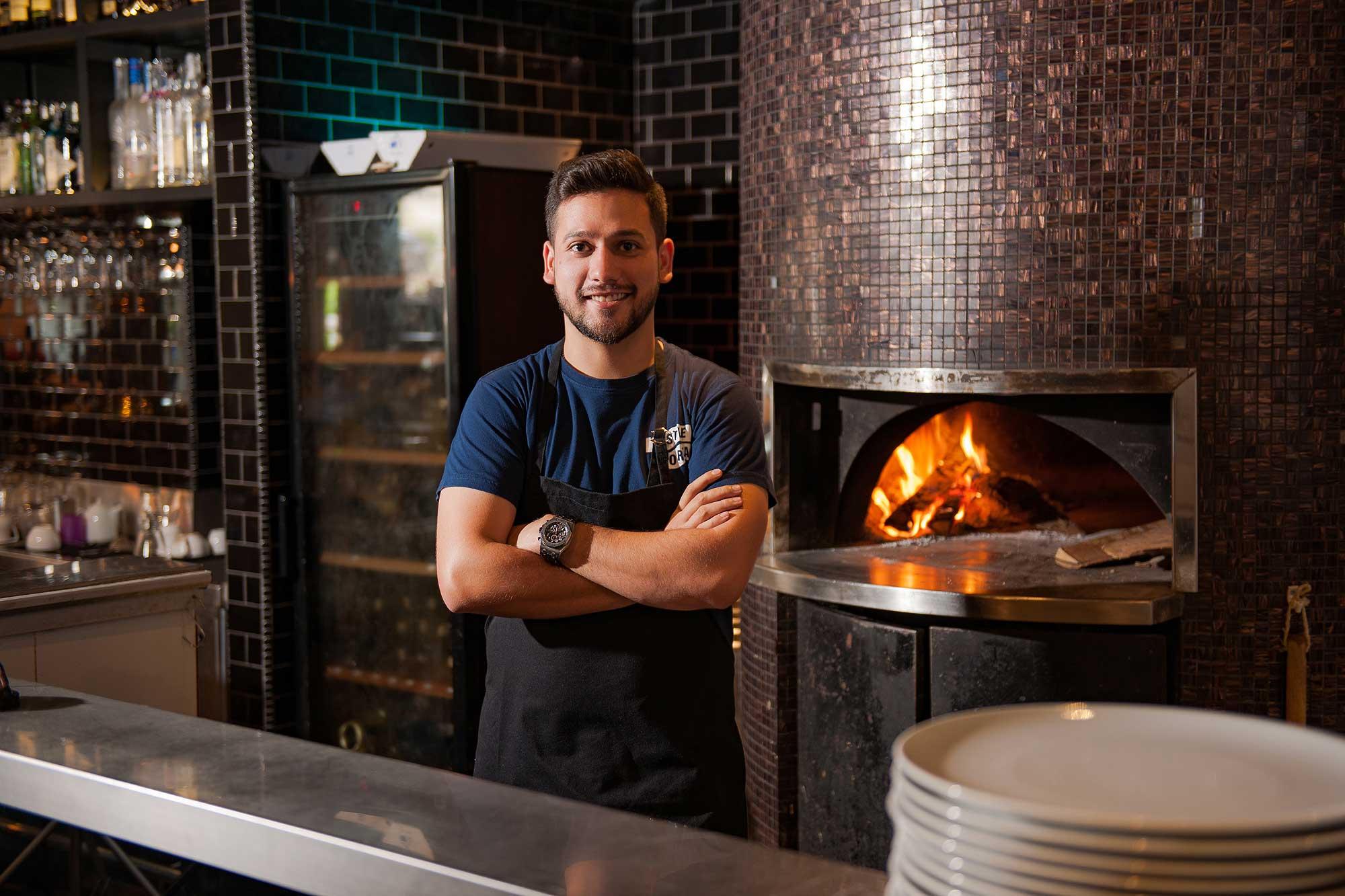 Celebrity chef Nik Michael Imran. Photo: Courtesy of the chef.