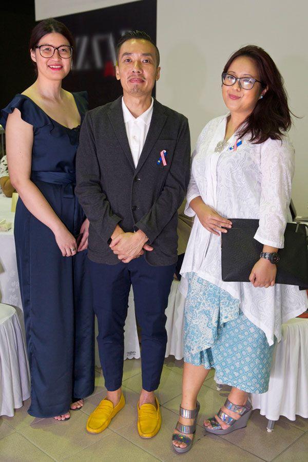 Samantha Tan, Ivan Lam and Ili Emilia Jonid