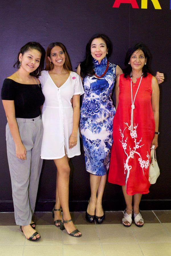 Natalia Chow, India Jumbhoy, Lim Wei-Ling and Shantini Vanniasingham