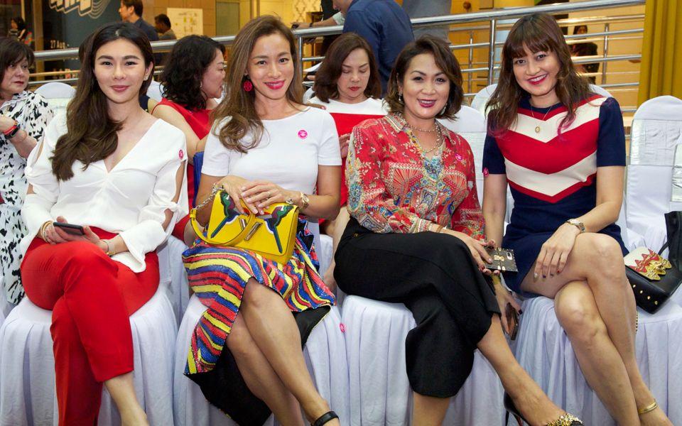 Datin Dian Lee, Caire Bloy, Puteri Badrinise and Datin Meera Sen