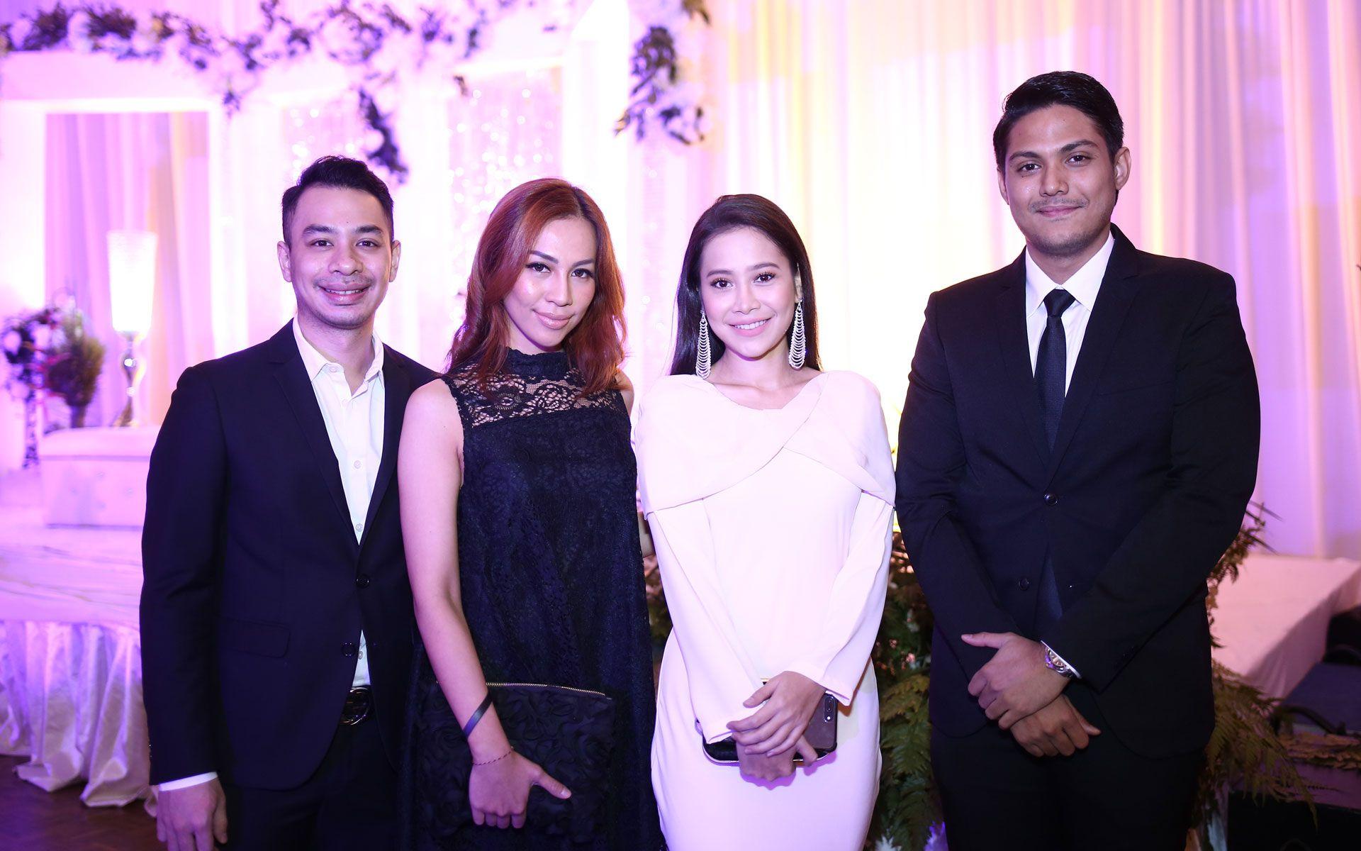 Emilio Sta Maria, Ida Mahiswari, Farah Nabilah and Amirul Yunus