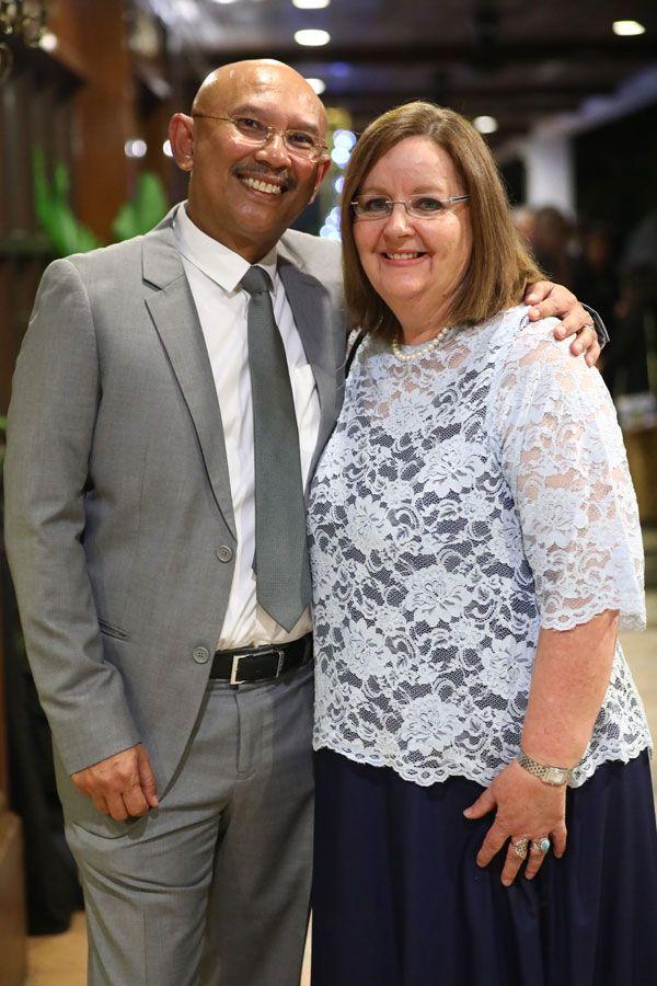 Captain Nazmi Zainuddin and Ann Vivian Dunne