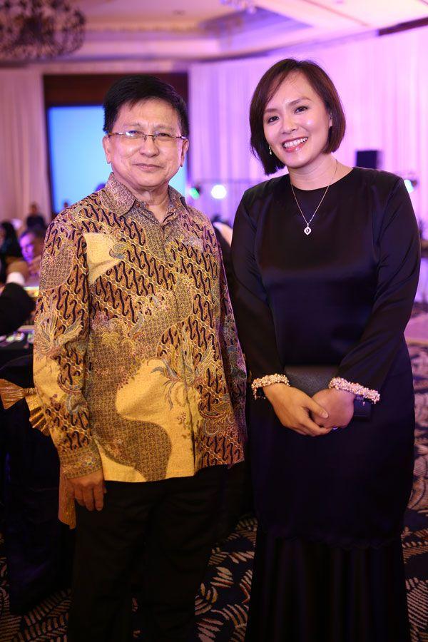 Tan Sri Richard Malanjum and Puan Sri Charlene Jintoni