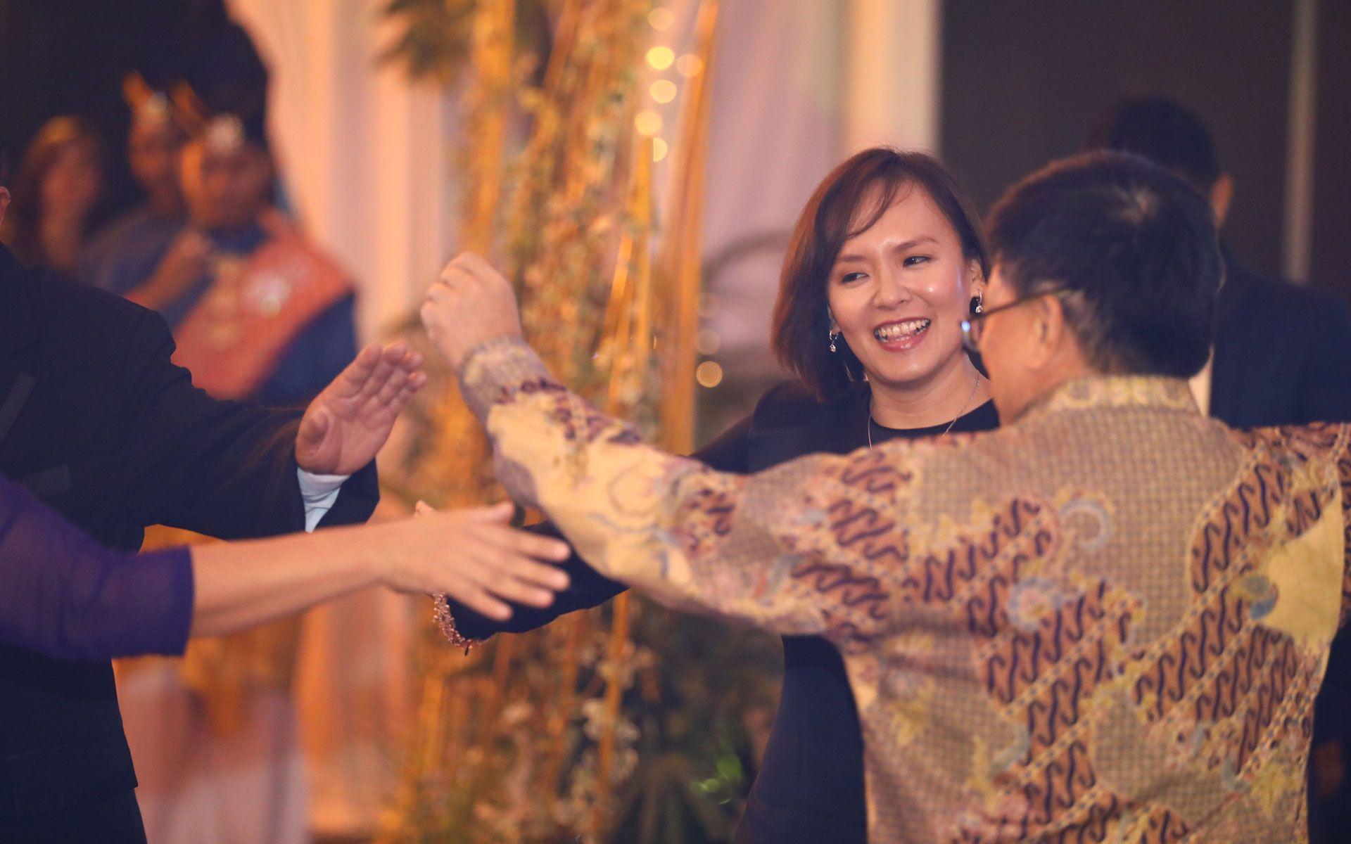 Puan Sri Charlene Jintoni and Tan Sri Richard Malanjum