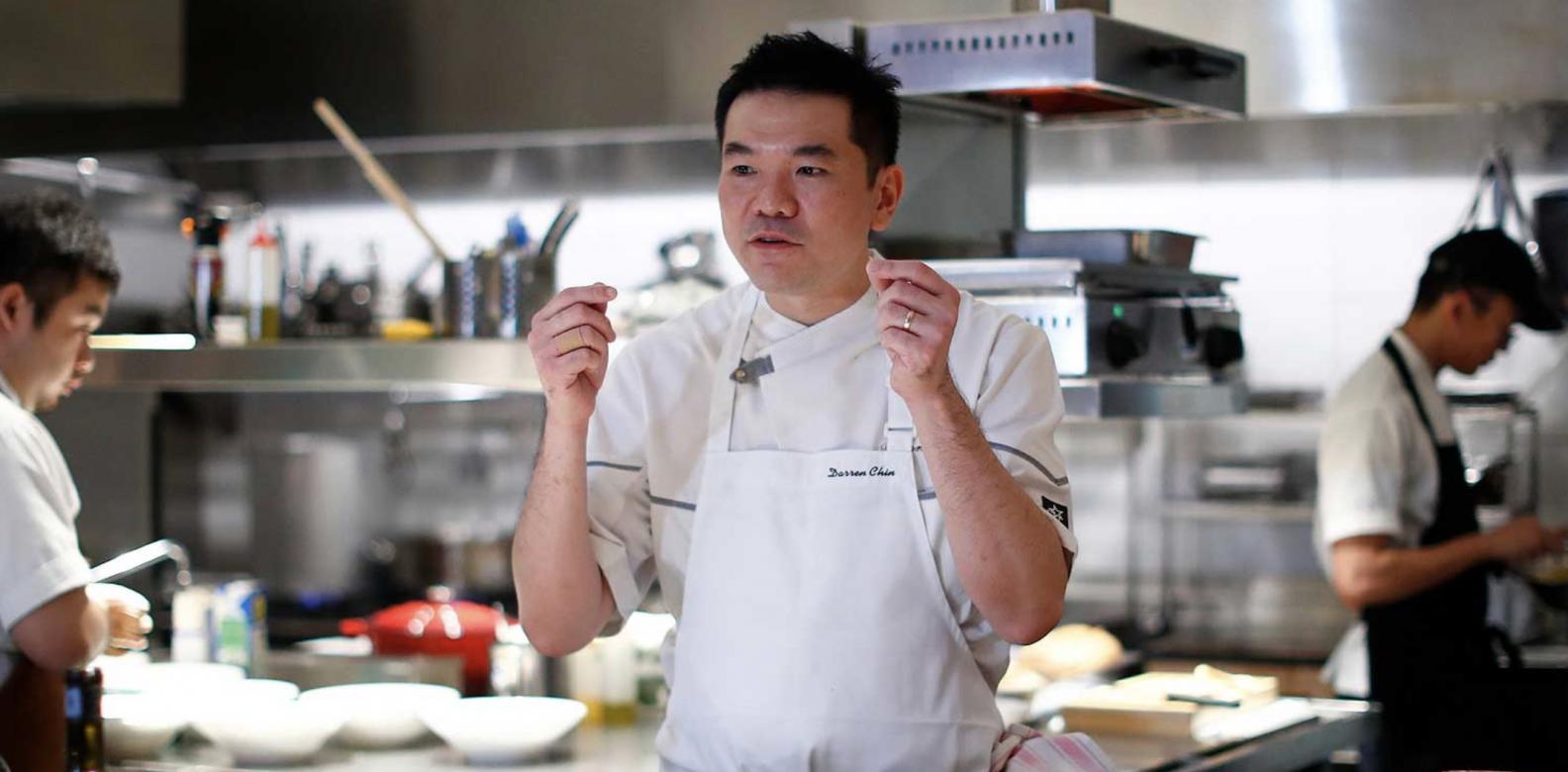Darren Chin, chef-patron of Bref. Photo: Courtesy of Moet Hennessy Diageo.