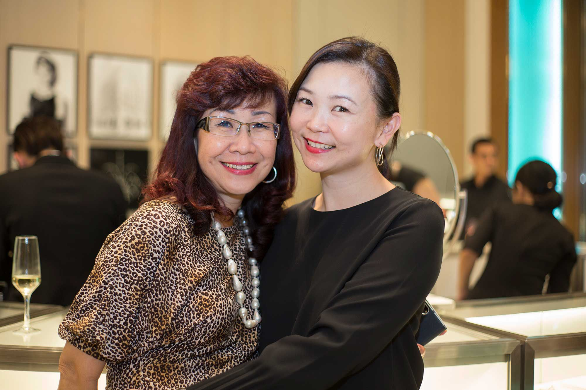 Florence Fang and Catherine Lee