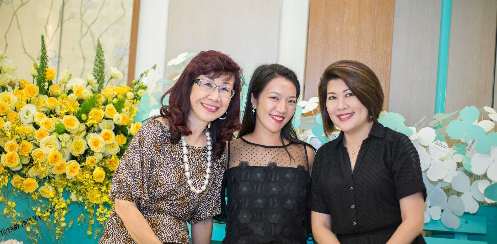 Florence Fang, Wong Wei Ling and Cesarine Lim
