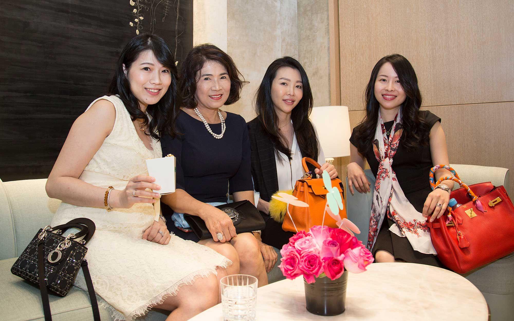 Datin Rosalyn Oei, Grace Huang, Datin Lisa Ong and Caleen Chua