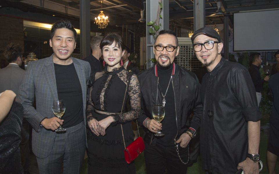 Billy Ooi, Aemy Wong, Datuk Kelvin Tan and Aaron Yap