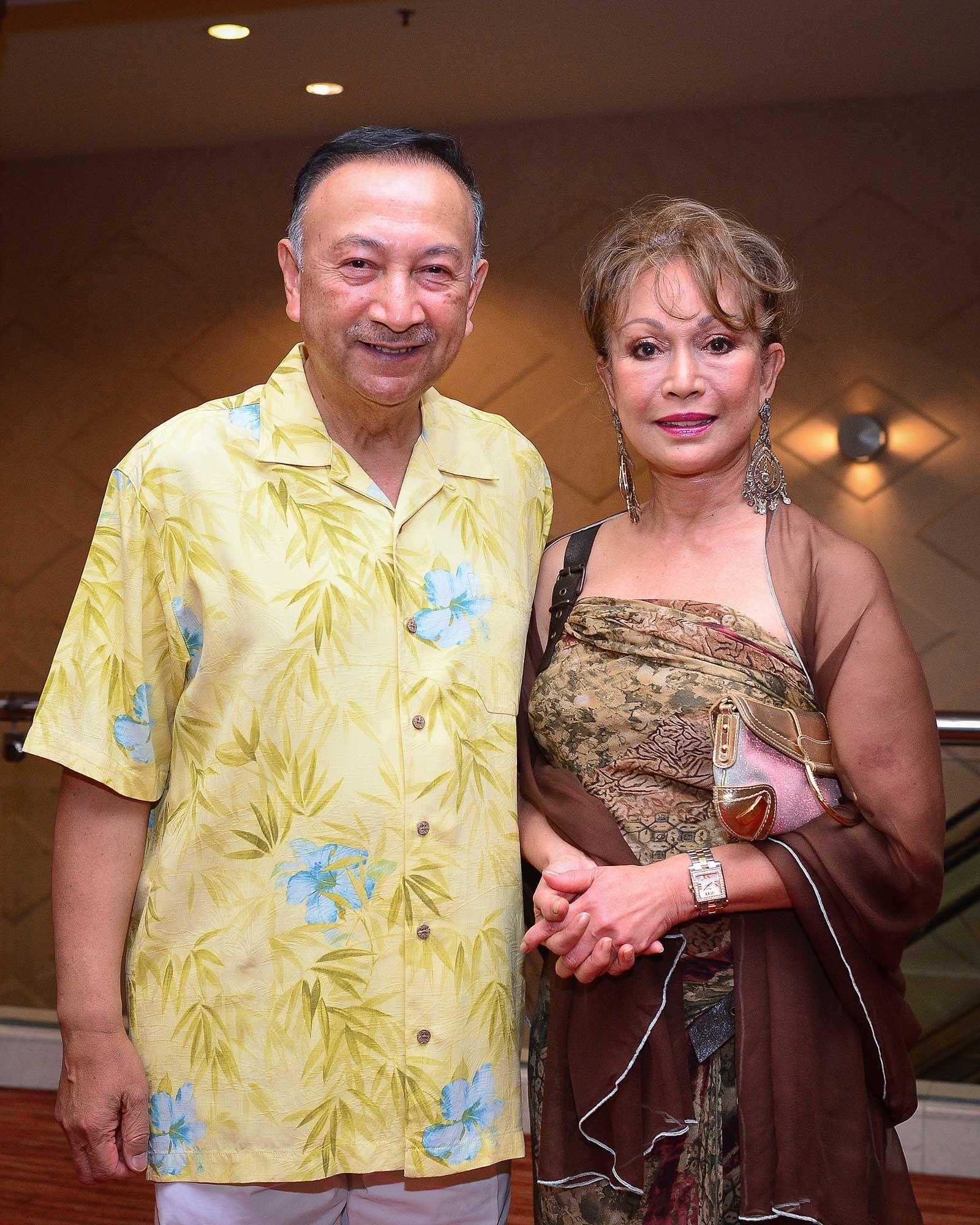 Tunku Dato' Seri Utama Naquiyuddin and Tunku Dato' Seri Nurul Hayati