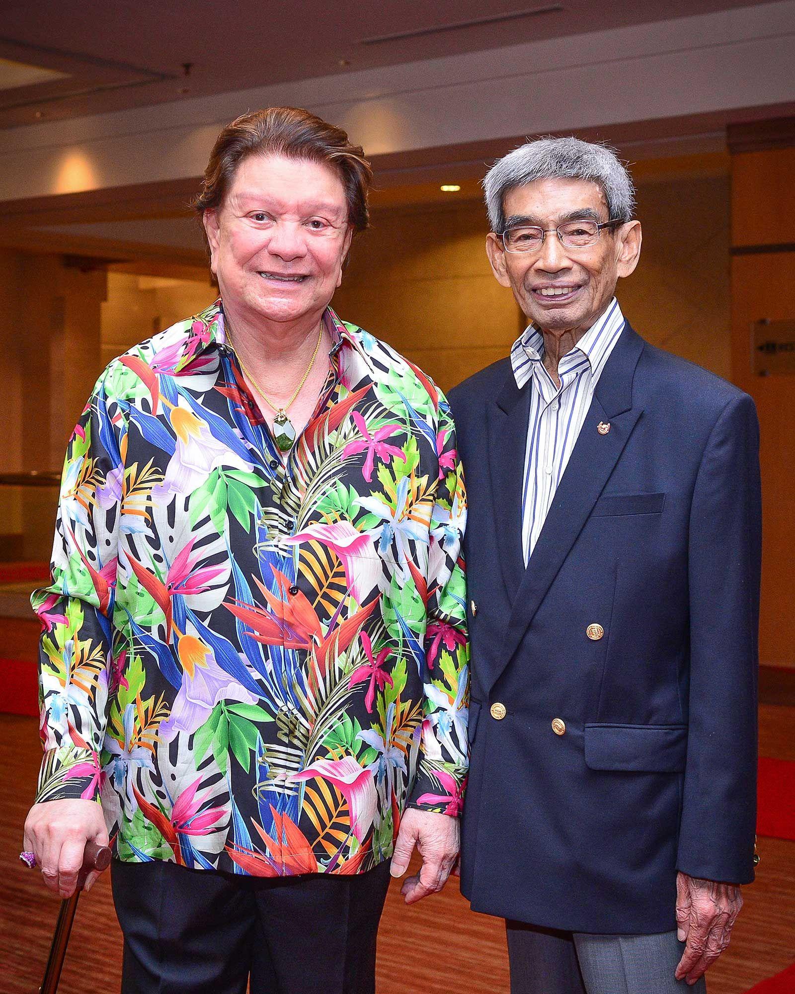 Tunku Dato' Sri Mizan Tunku Maamor and Tunku Dato' Seri Mahmud Tunku Besar Burhanuddin