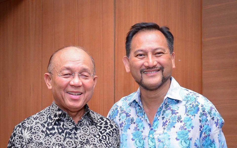 Tan Sri Azman Hashim and Tunku Dato' Yaacob Khyra