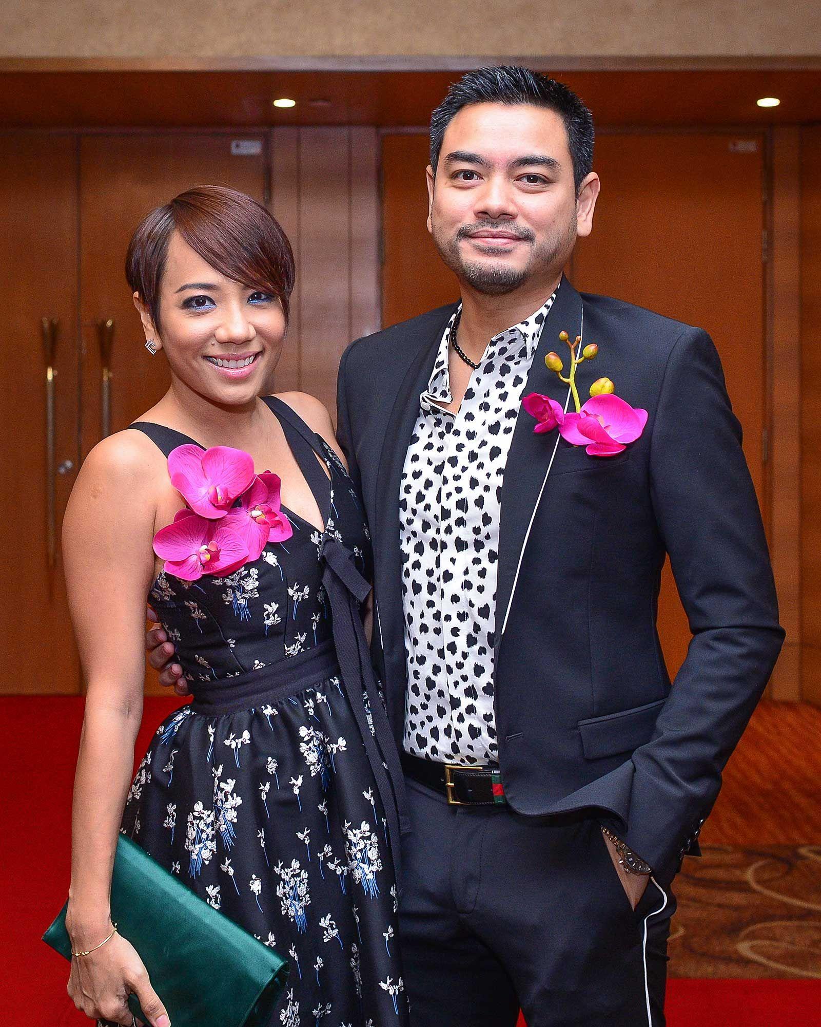 Jeslina Hashim and Tunku Eddy Nasruan